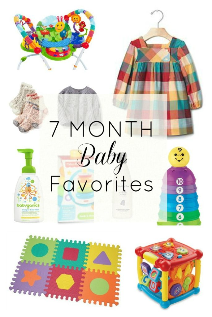7 Month Baby Favorites // girl about columbus