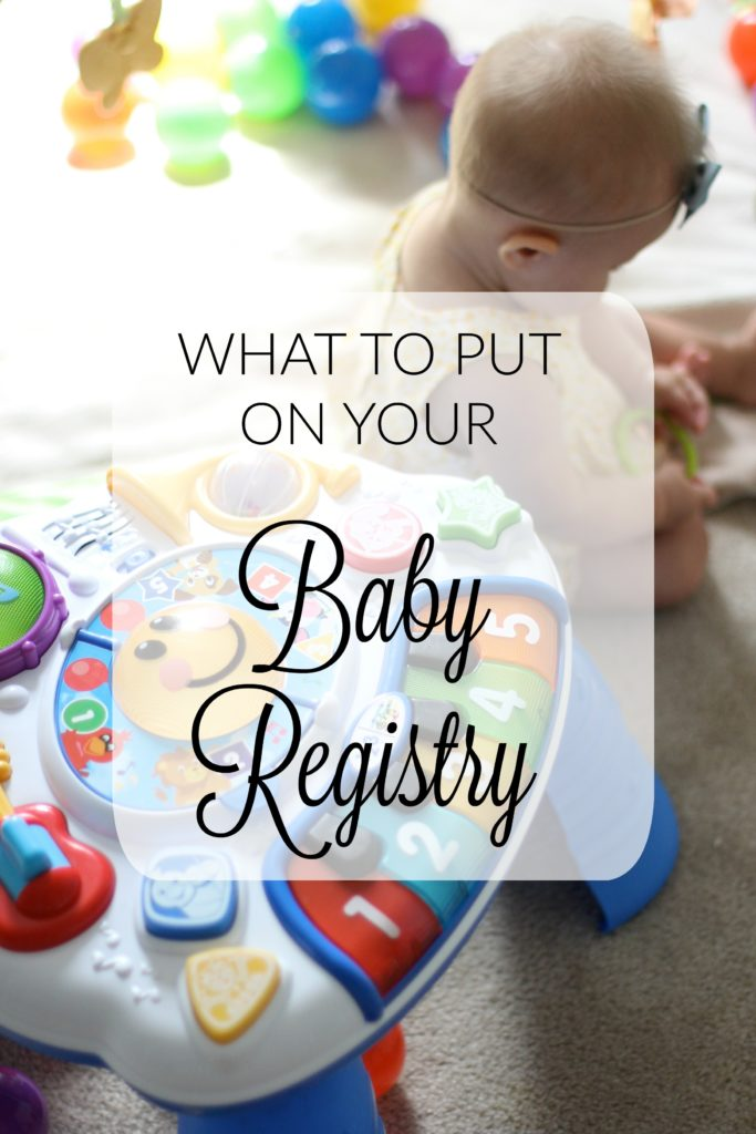 What to Put on Your Baby Registry Guide