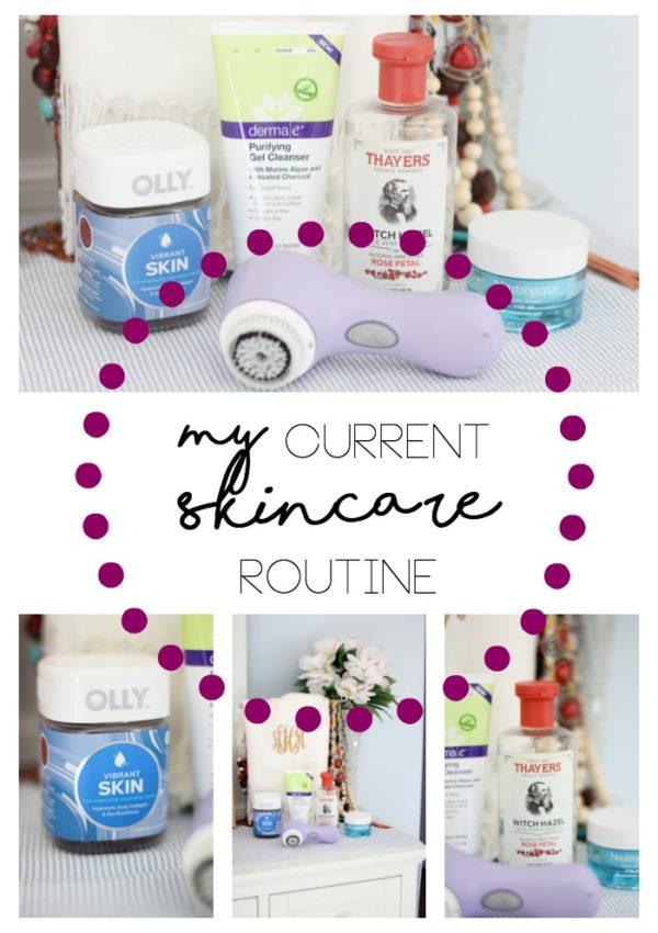 Current Skincare Routine…