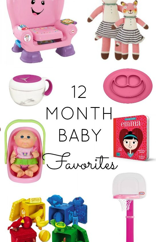 12 month baby favorites // girl about columbus