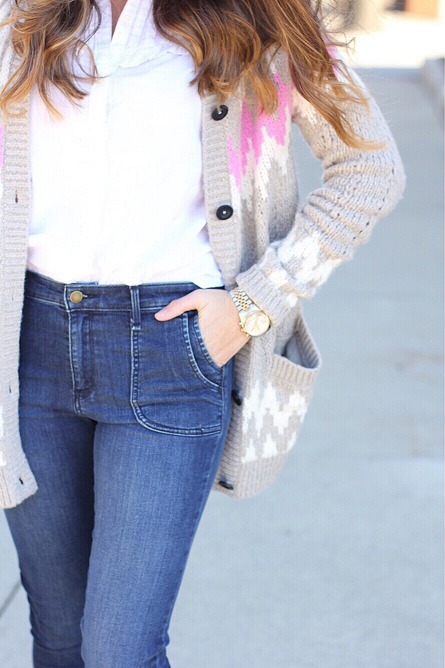 spring sweater // girl about columbus