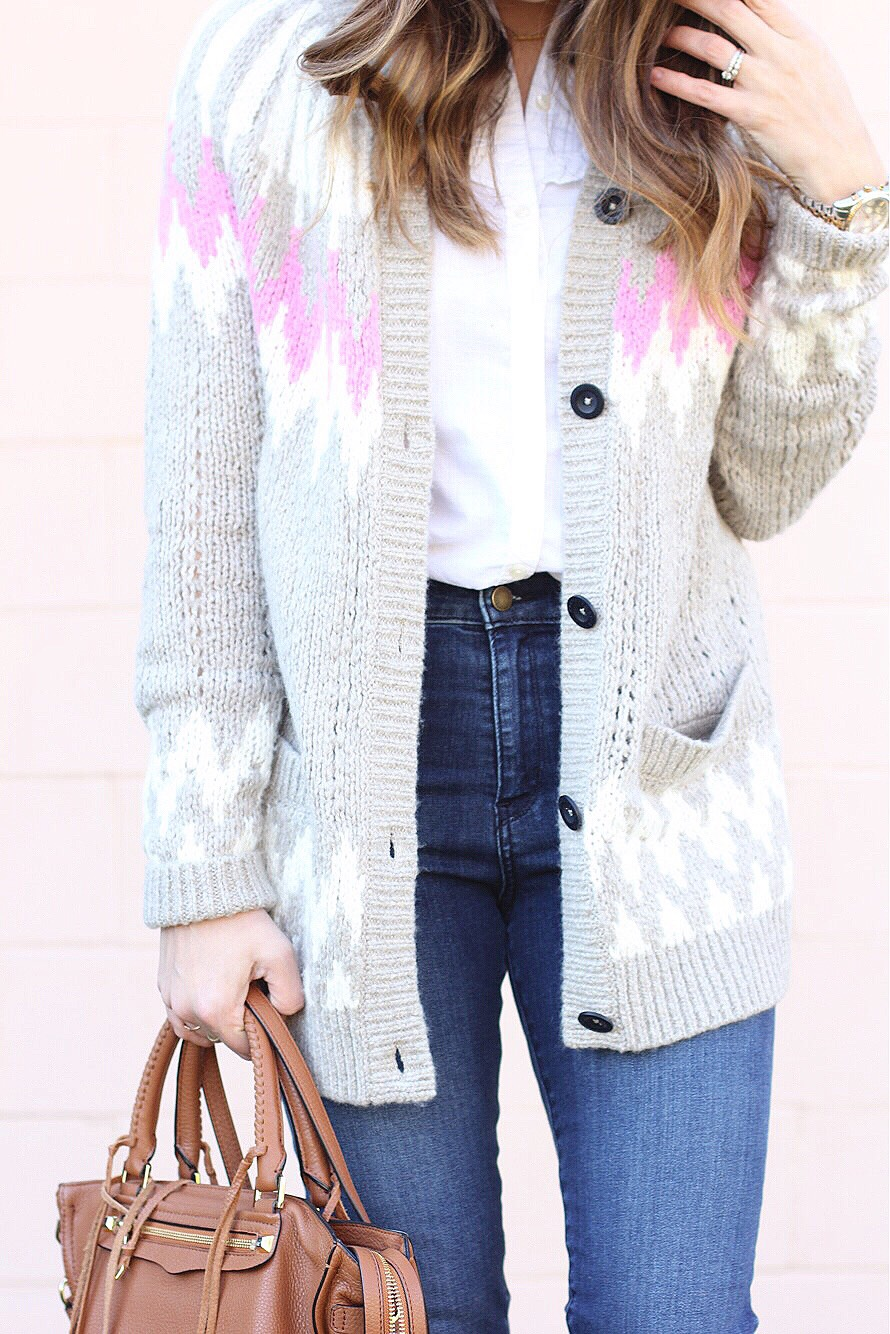 sweater detail // girl about columbus