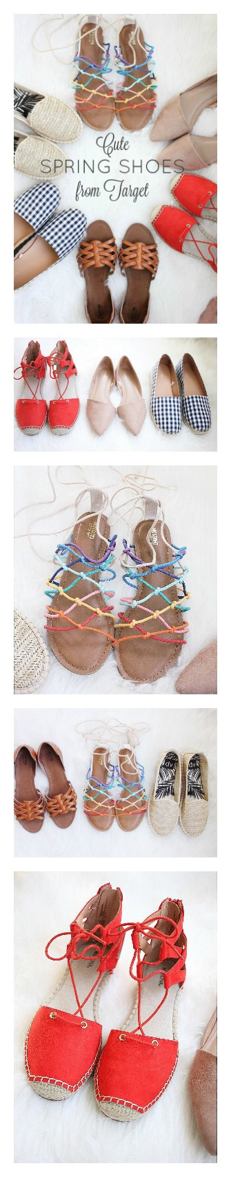 Cute Spring Shoes from Target 2017