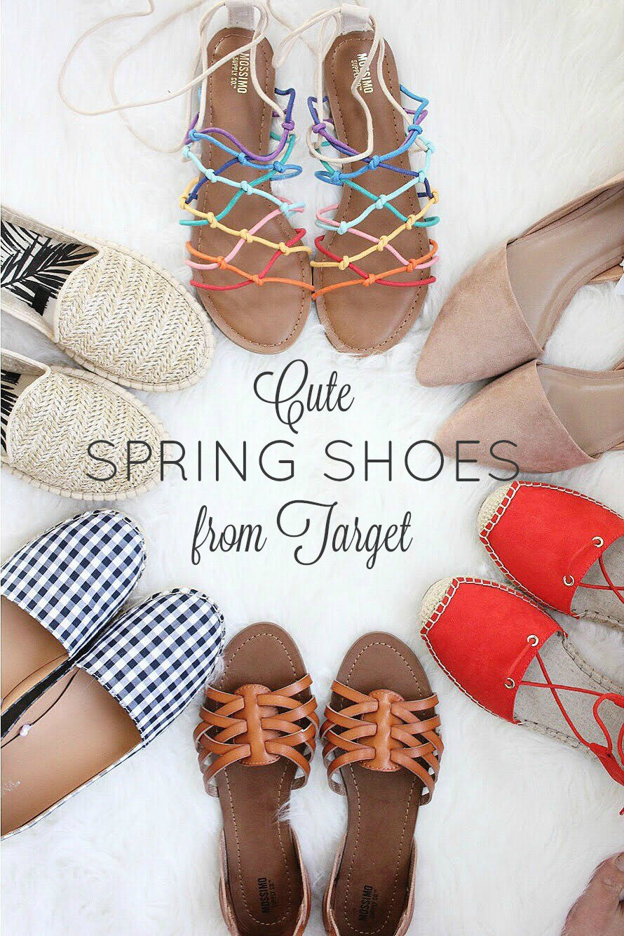 Cute Spring Shoes from Target