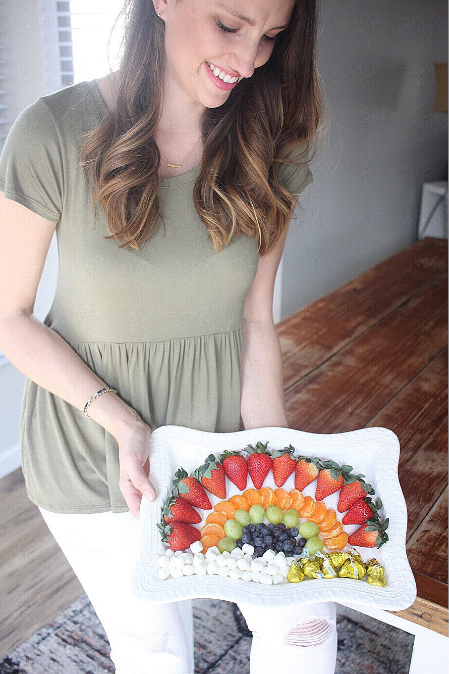 Rainbow Fruit Plate