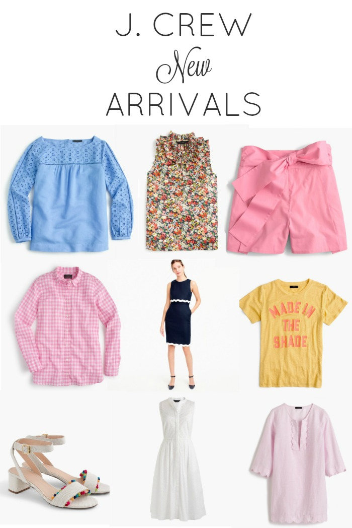 J. Crew New Arrivals April 2017