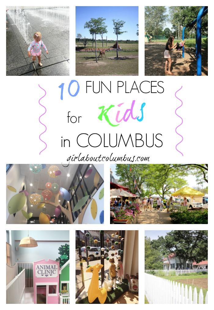 10 Fun Places for Kids in Columbus