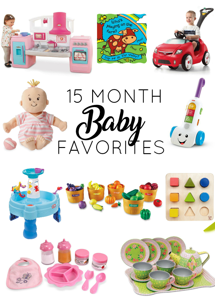 15 Month Baby Favorites // girl about columbus