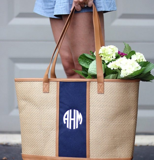 Giveaway: Thirty-One Monogrammed Tote!!!