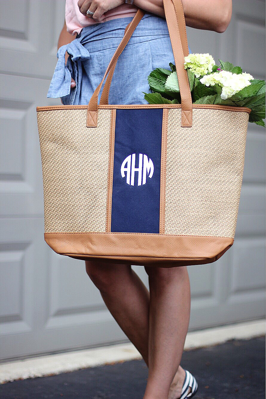 thirty one monogram bag
