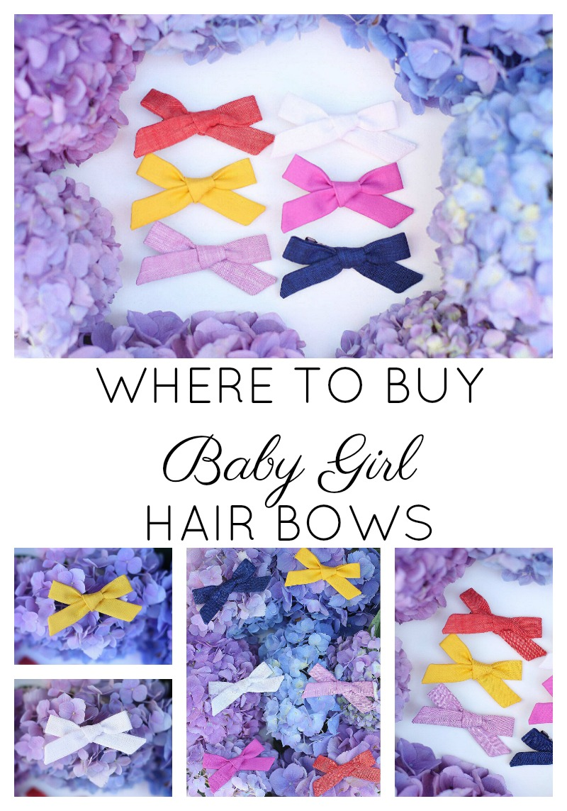 Big bows, little bows, and boutique specialties; polka dots and stripes in all colors of the rainbow -- eBay has hair bows for every little girl's needs.