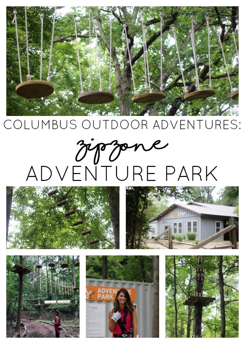 Zip Zone Adventure Park In Columbus Ohio Girl About