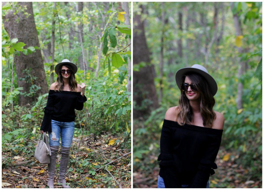 club monaco hat // girl about columbus