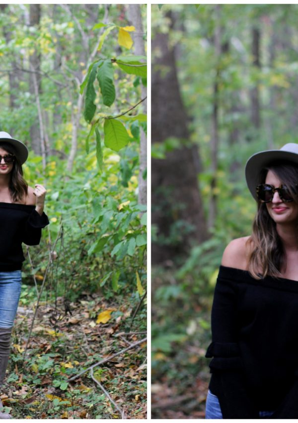 club monaco hat // girl about columbus