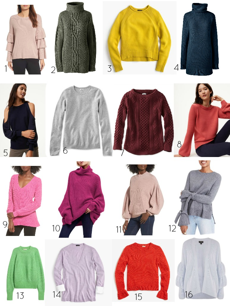 Must-Have Sweaters for Fall // girl about columbus