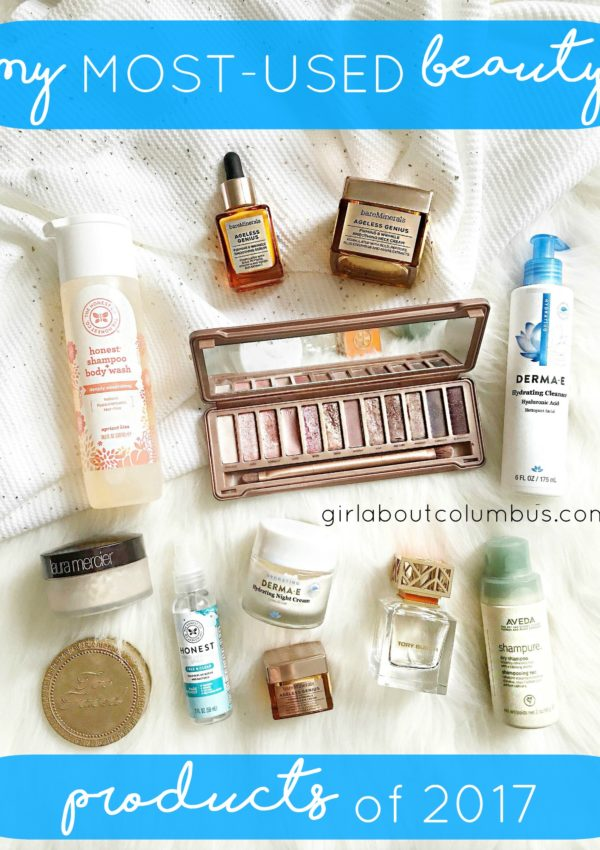 2017 most used beauty buys GAC
