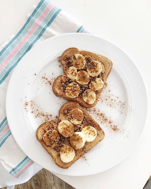 almond butter toast
