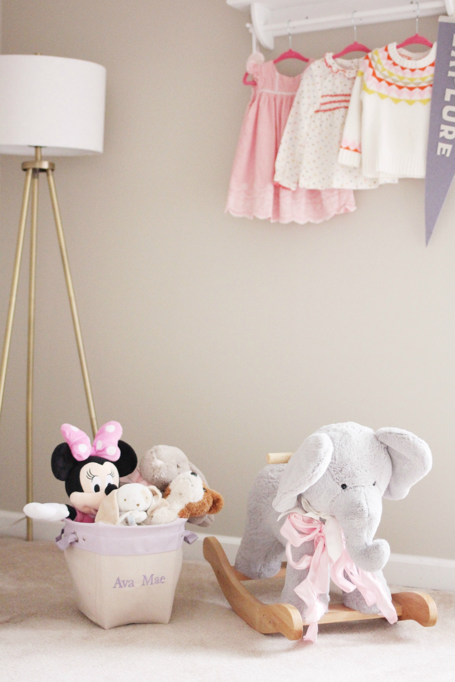 how to safely style your nursery // girl about columbus