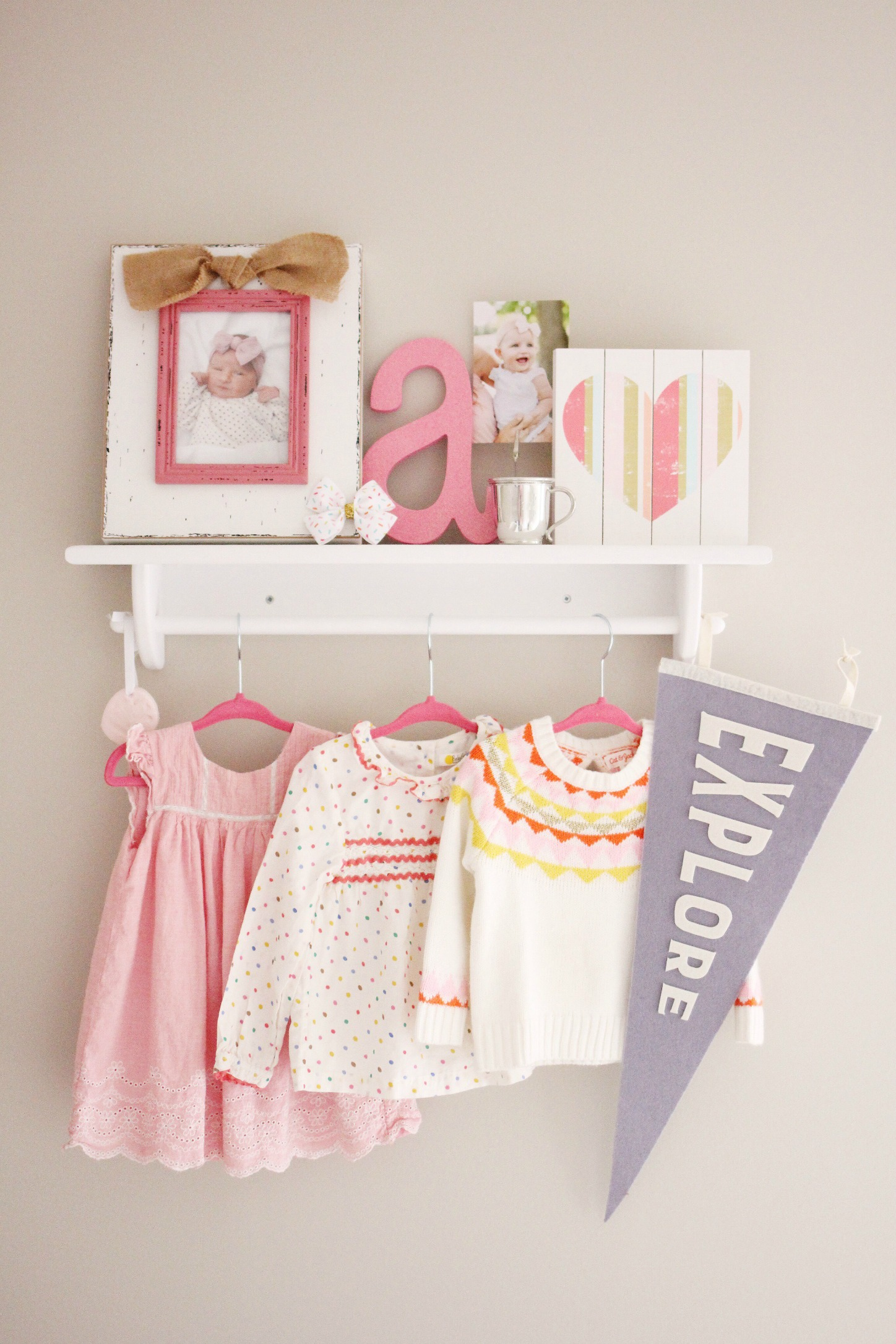 nursery decor for girls // girl about columbus