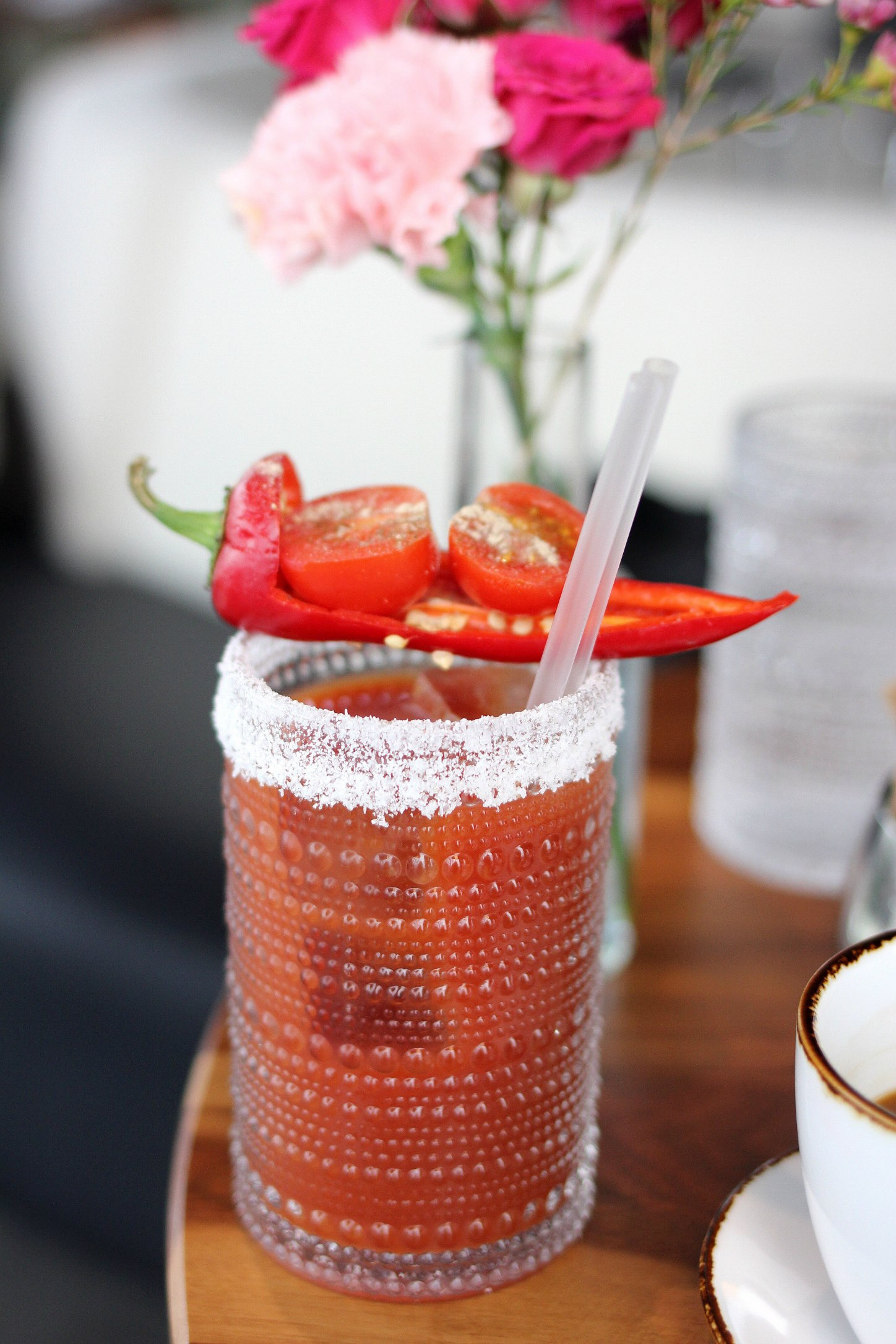 vaso bloody mary bar