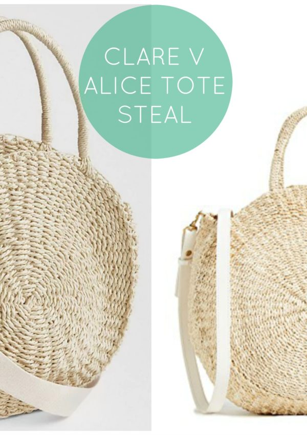 Saturday Shopping Steal: Clare V Alice Tote