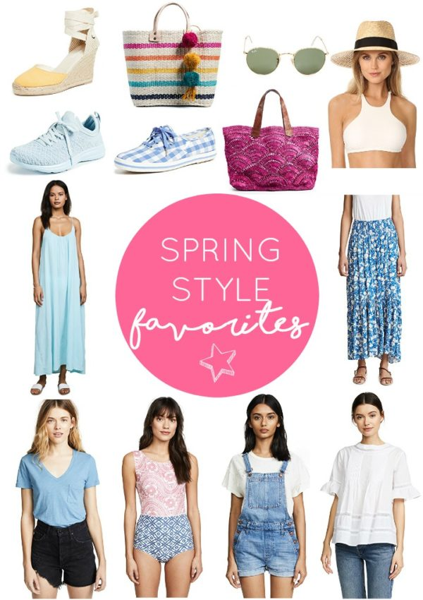 spring style favorites // girl about columbus