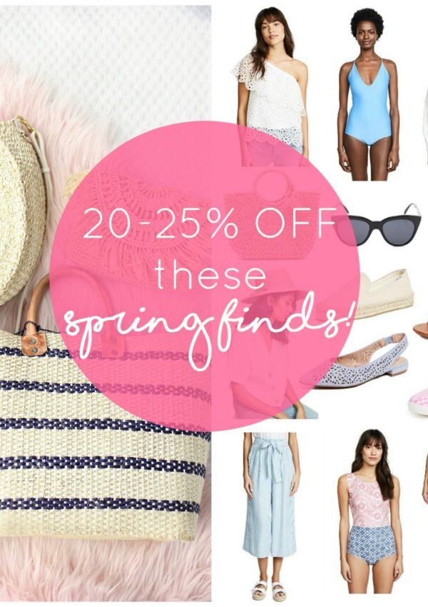 These Gorgeous Spring Finds are All 20-25% Off