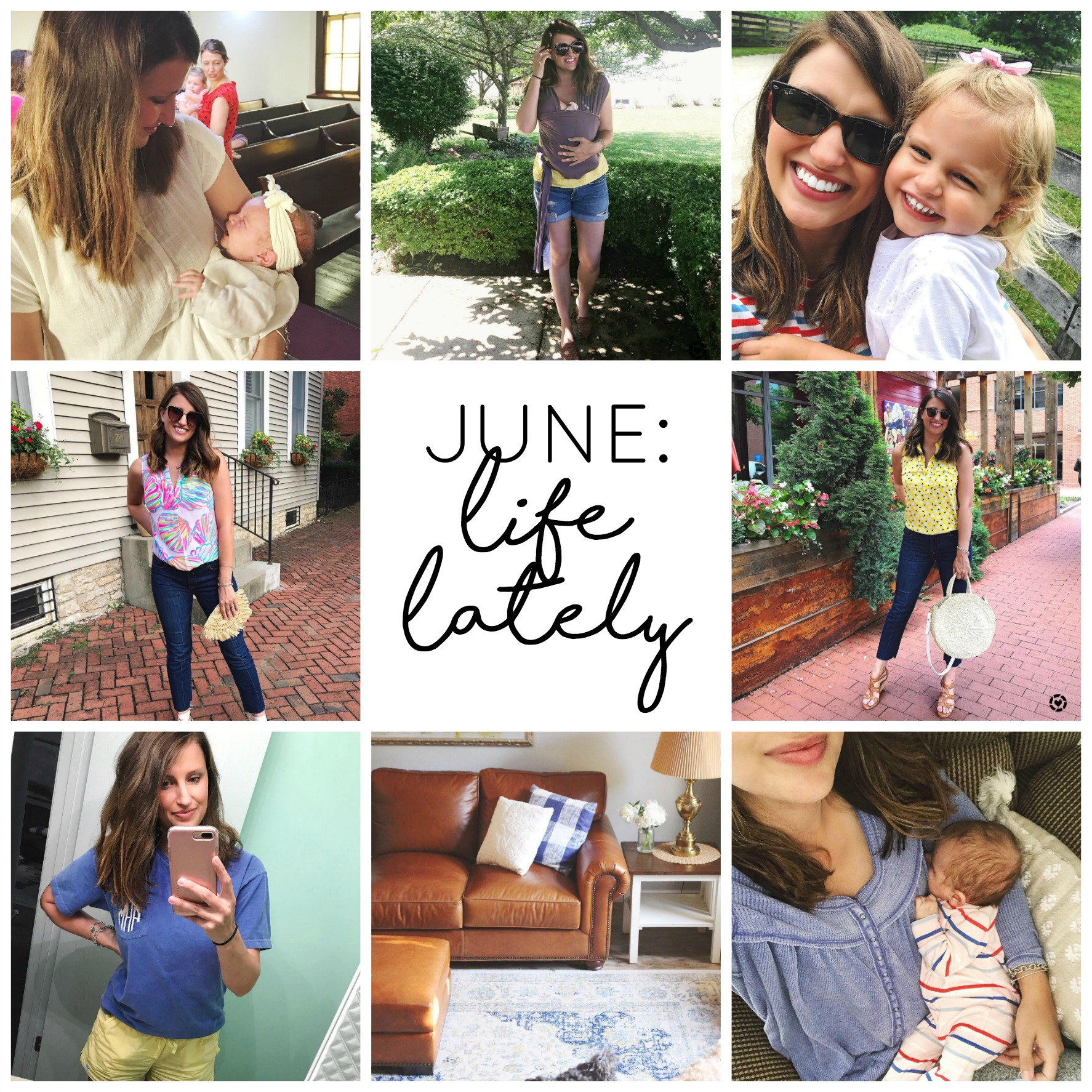 JUNE Life Lately girl about columbus