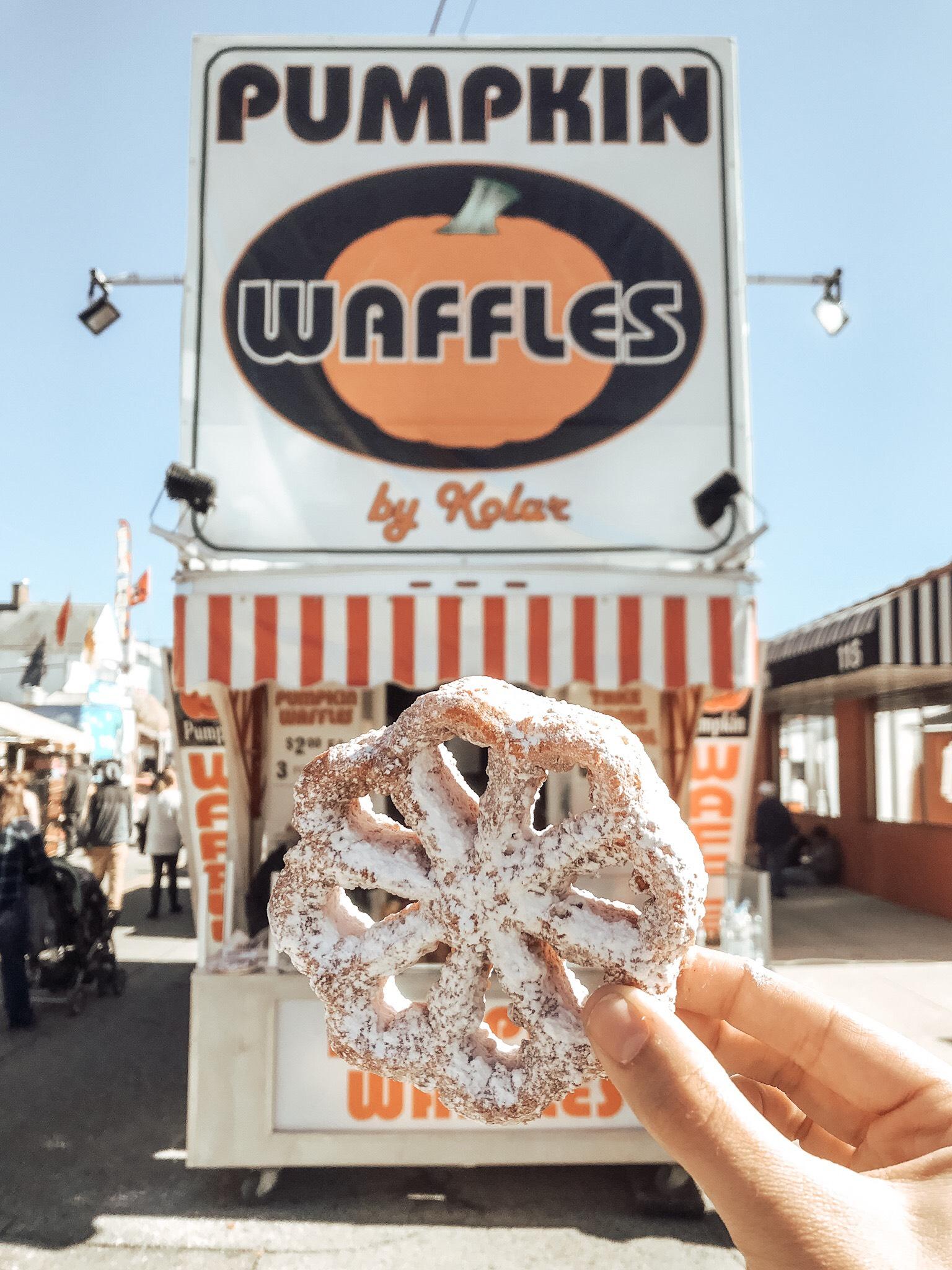 circleville pumpkin show waffles