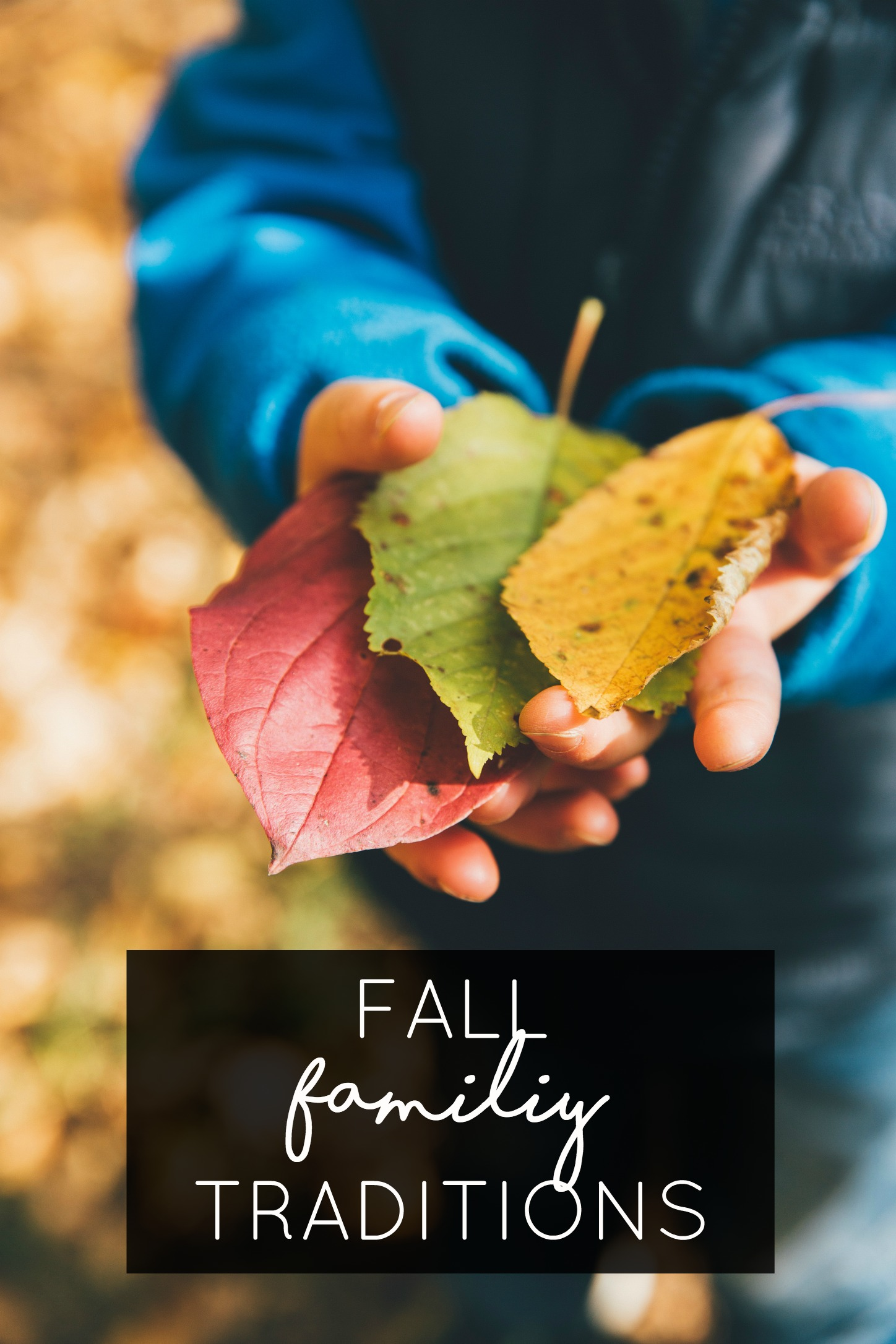 fall family traditions ideas
