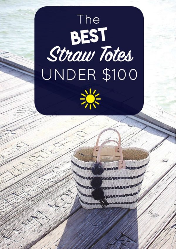 The Best Straw Totes Under $100
