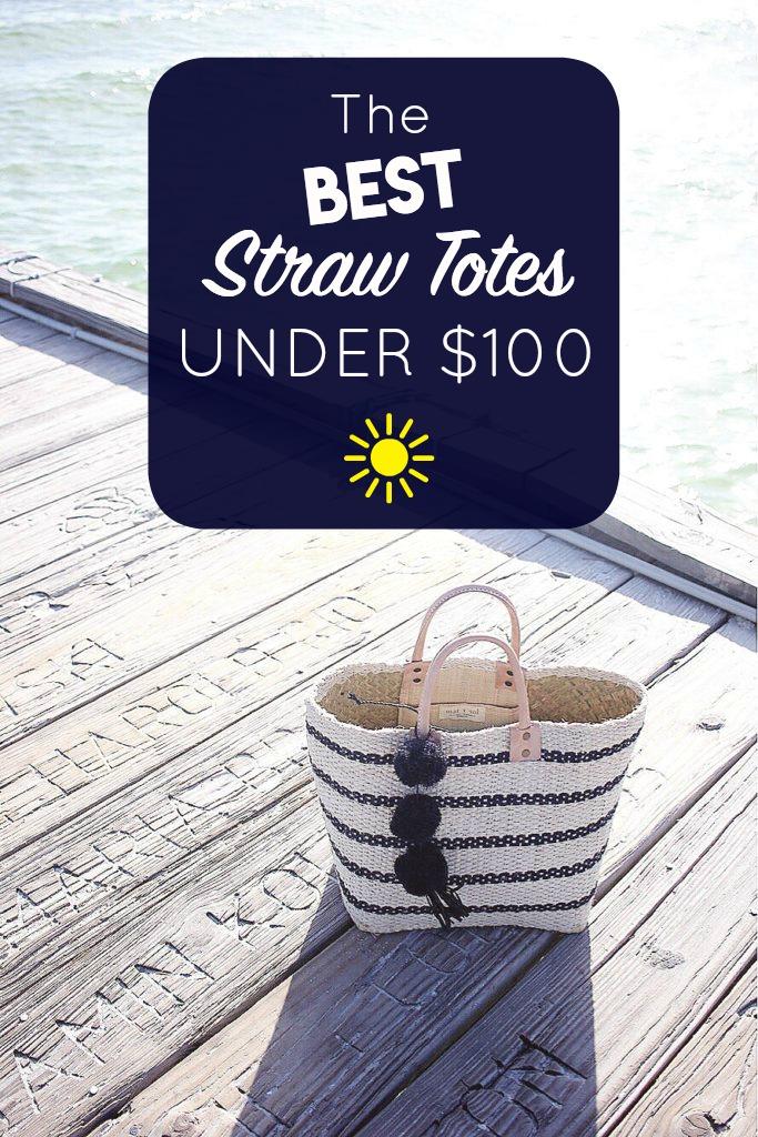 best straw totes under $100