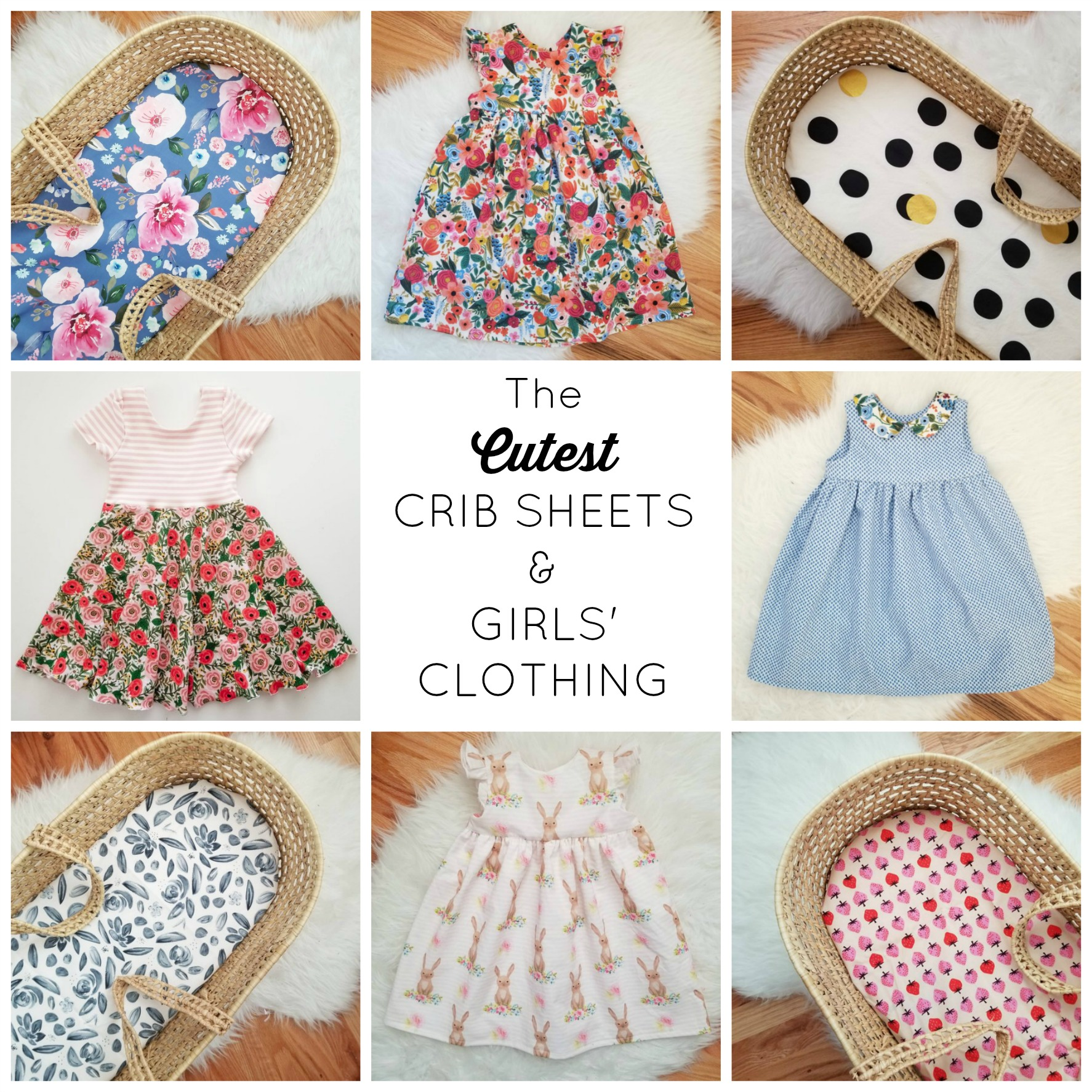 cutest crib sheets
