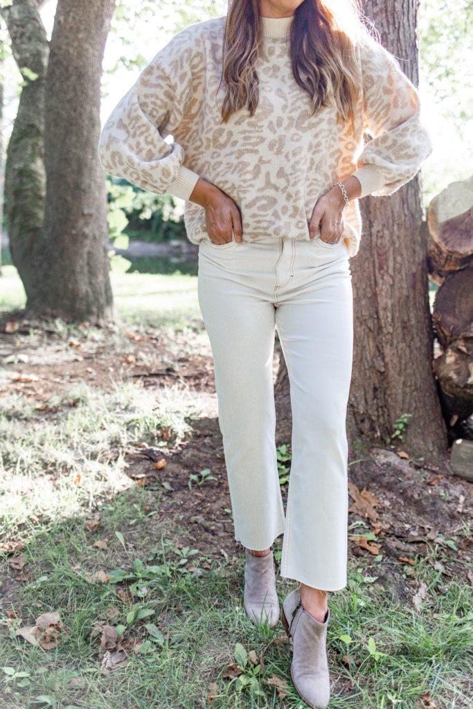 white wrangler jeans