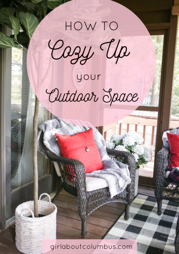 How to Make Your Outdoor Space Cozy this Fall