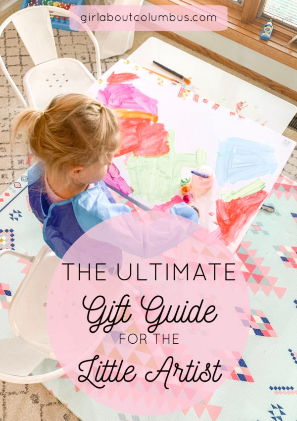 The Ultimate Amazon Gift Guide for Art that the Little Artist will LOVE