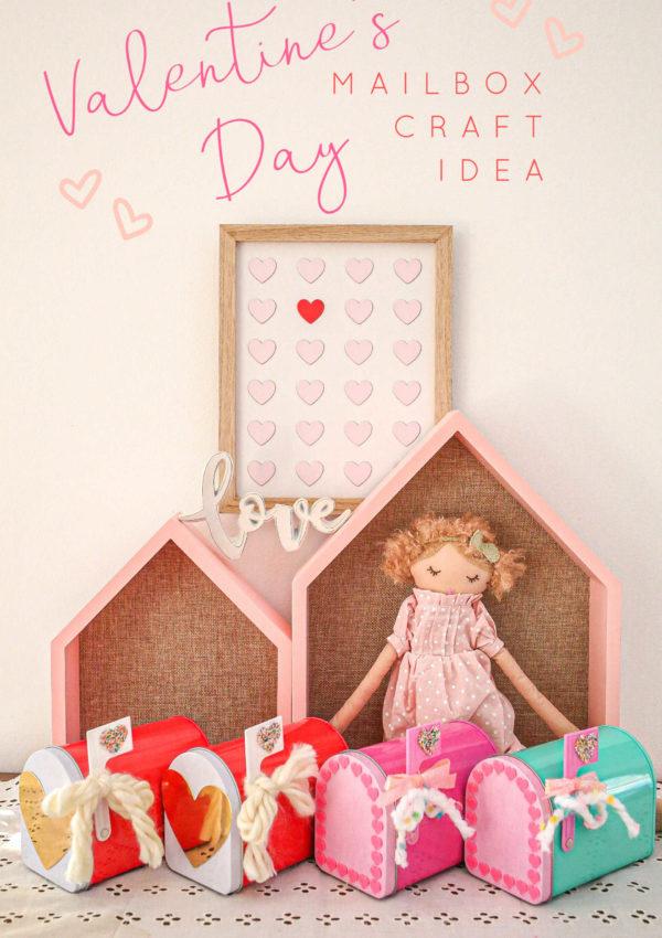 Valentine's Day Mailbox Craft Idea!