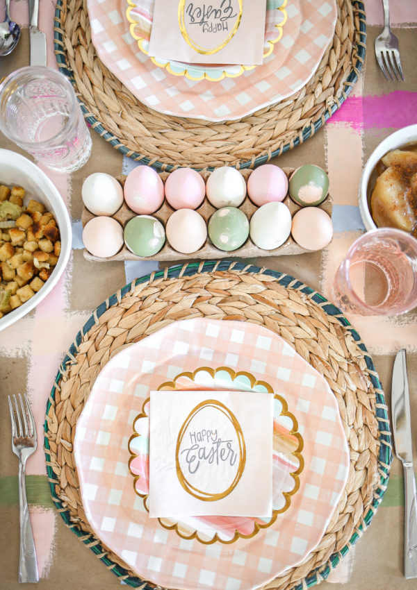 5 Tips to Host a Festive + Simple Easter Brunch at Home