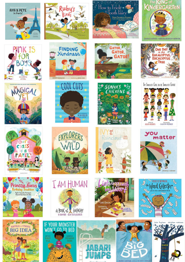 50+ Children's Books with  Diverse Characters