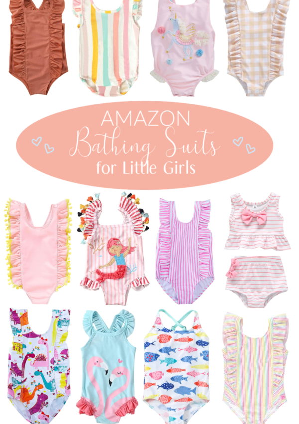 Amazon Finds: Little Girls' Bathing Suits