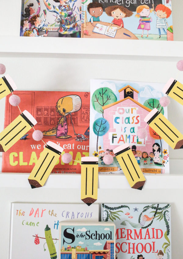 Our Back to School Book Shelfie!