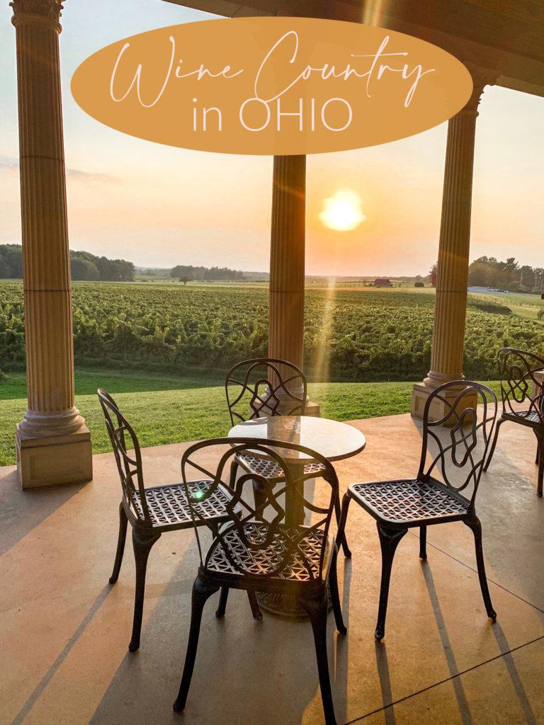 wine country in ohio