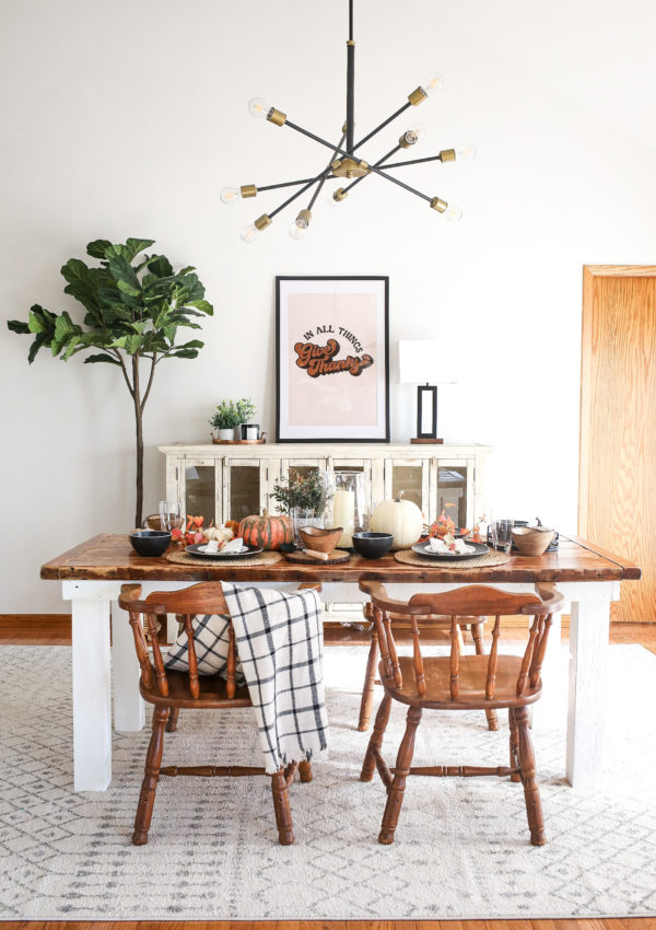 5 Essential Elements of a Cozy Thanksgiving Tablescape