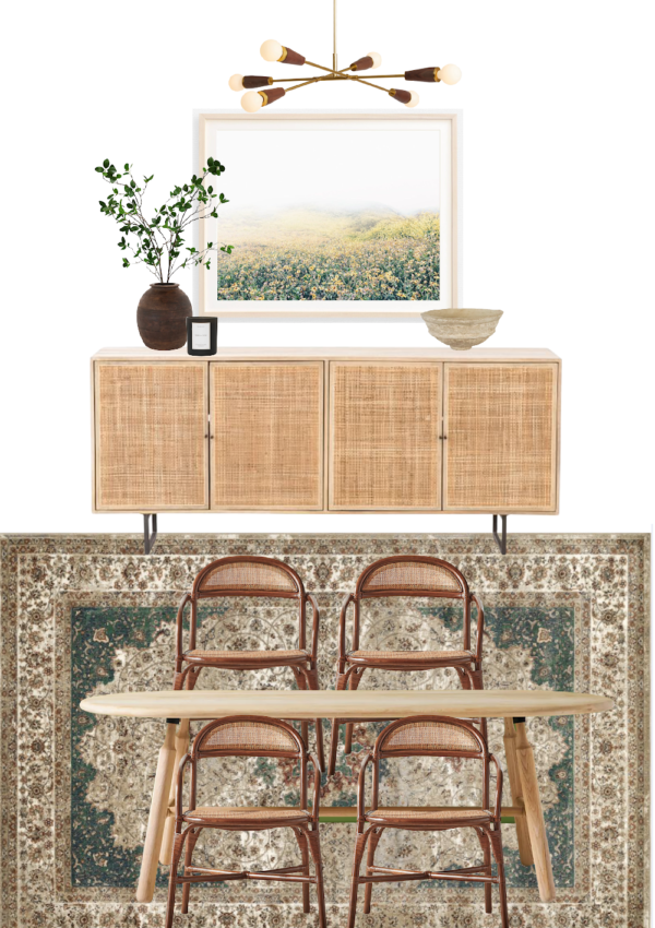 Nature-Inspired Dining Room Design