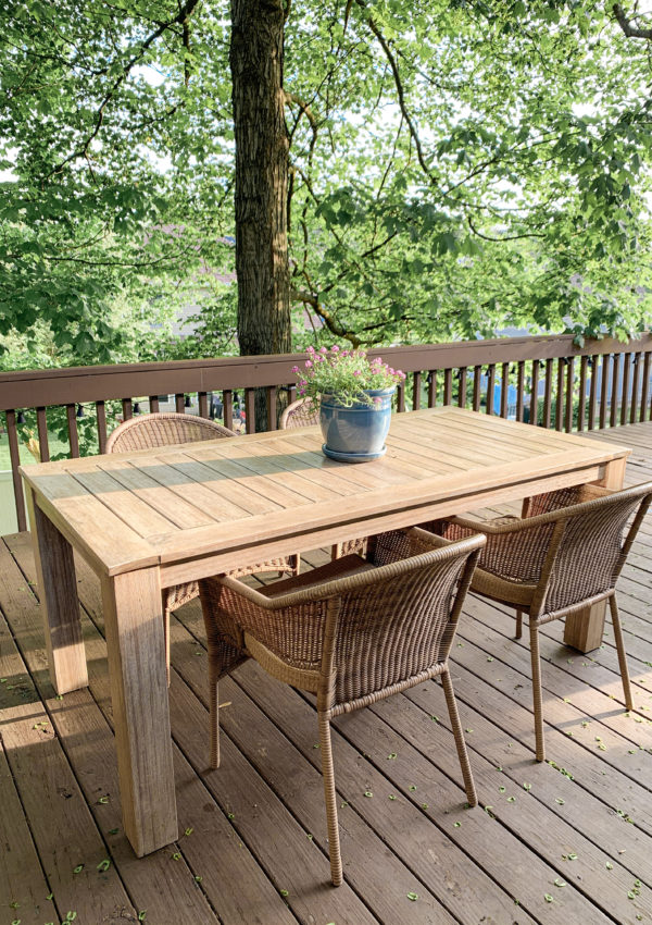 Our Outdoor Furniture