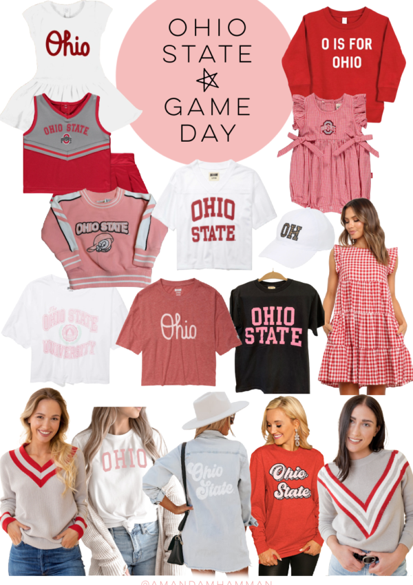 Ohio State Game Day Outfits