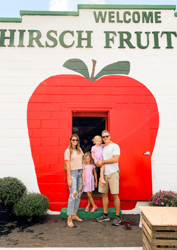 Picking Apples at Hirsch Fruit Farm